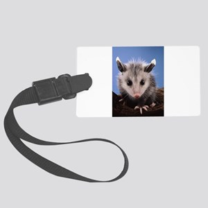 Cute Opossum Large Luggage Tag