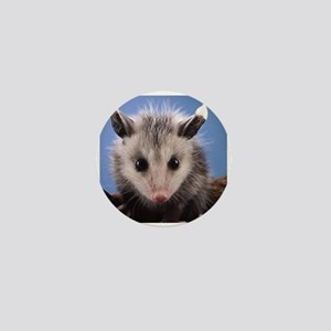 Cute Opossum Mini Button