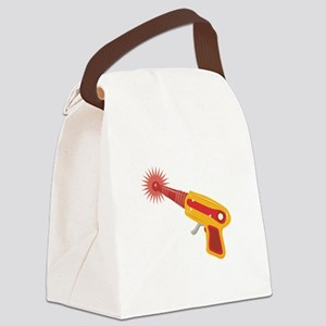 Laser Gun Canvas Lunch Bag