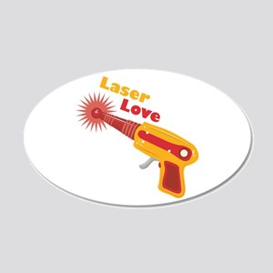 Laser Love Wall Decal