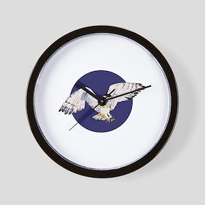 NIGHT BARN OWL Wall Clock