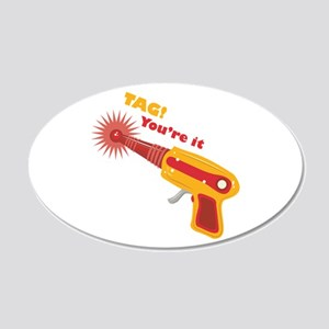 Tag! You're It Wall Decal