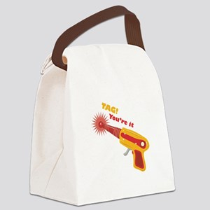 Tag! You're It Canvas Lunch Bag