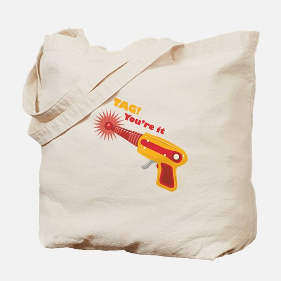 Tag! You're It Tote Bag
