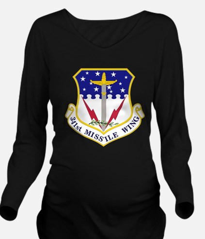 Cute Air force cadet Long Sleeve Maternity T-Shirt