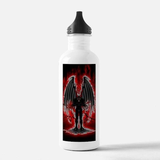 Evil Demon Spirit Water Bottle