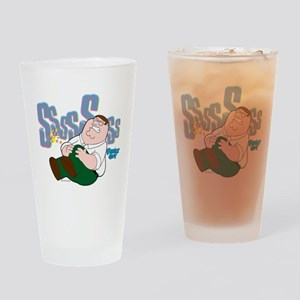 Family Guy Peter Sssss Drinking Glass