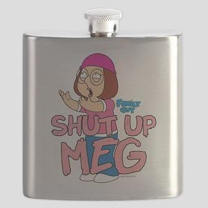 Family Guy Shut Up Meg Flask