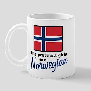 The Prettiest Girls are Norwegian Mug
