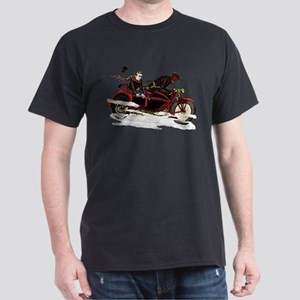 Krampus The Biker T-Shirt