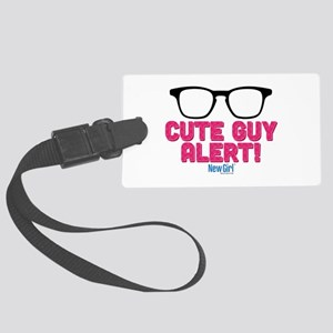 New Girl Alert Large Luggage Tag