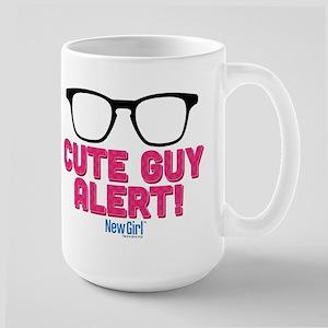 New Girl Alert Large Mug