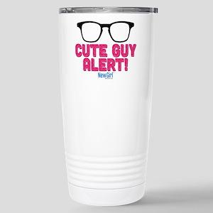 New Girl Alert Stainless Steel Travel Mug