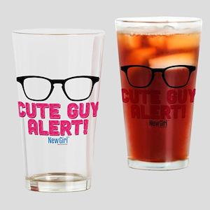 New Girl Alert Drinking Glass