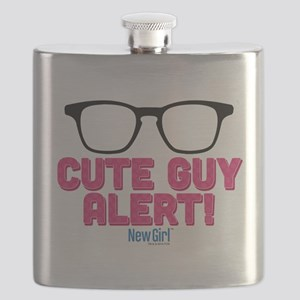 New Girl Alert Flask