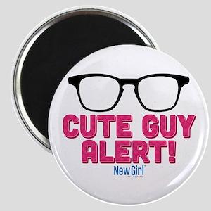 New Girl Alert Magnet