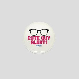New Girl Alert Mini Button