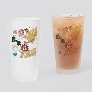 Family Guy Peter vs. The Giant Chic Drinking Glass