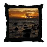Maui Sunset Throw Pillow