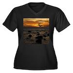 Maui Sunset Plus Size T-Shirt