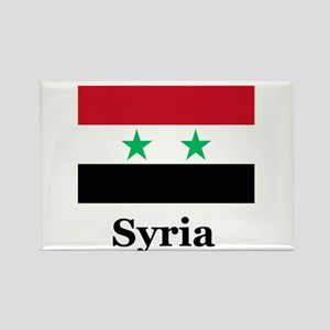 Syrian Heritage Rectangle Magnet