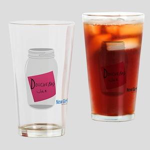 New Girl Jar Drinking Glass