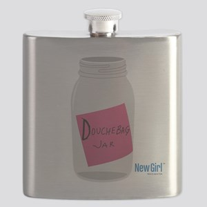 New Girl Jar Flask