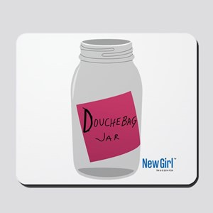 New Girl Jar Mousepad