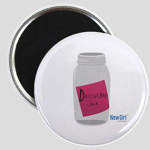 New Girl Jar Magnet