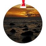 Maui Sunset Ornament