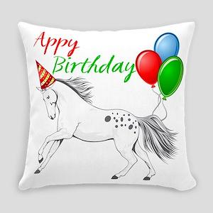 Happy New year Appaloosa Horse Master Pillow