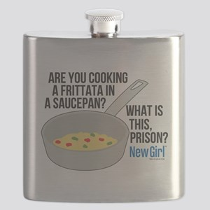 New Girl Frittata Flask