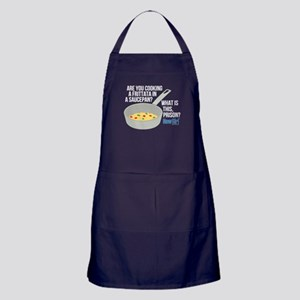 New Girl Frittata Apron (dark)