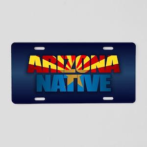 Arizona PC Aluminum License Plate