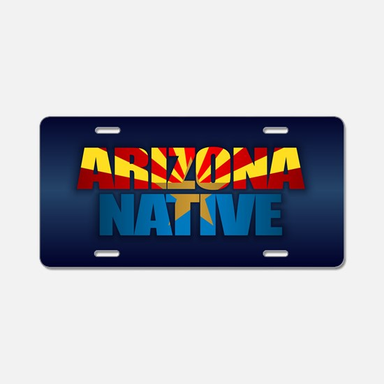 Arizona PC Aluminum License Plate