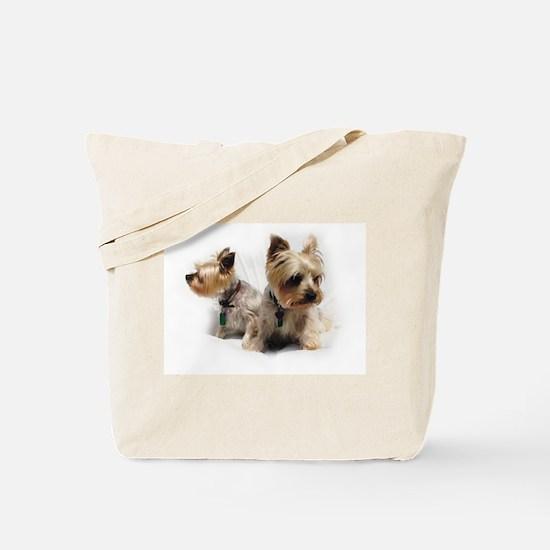 Silky Terriers Tote Bag