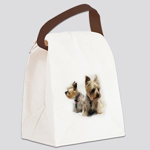 Silky Terriers Canvas Lunch Bag