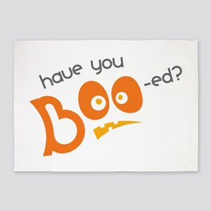 Have You Boo-ed 5'x7'Area Rug