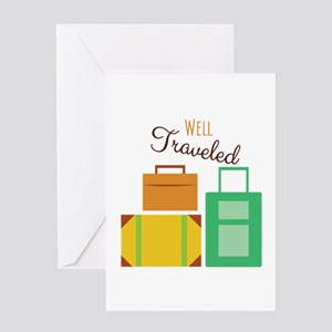 Well Traveled Greeting Cards