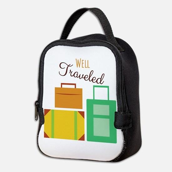 Well Traveled Neoprene Lunch Bag