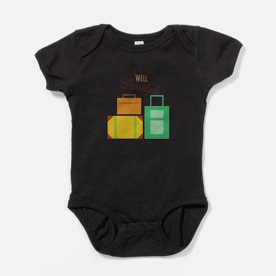 Well Traveled Baby Bodysuit