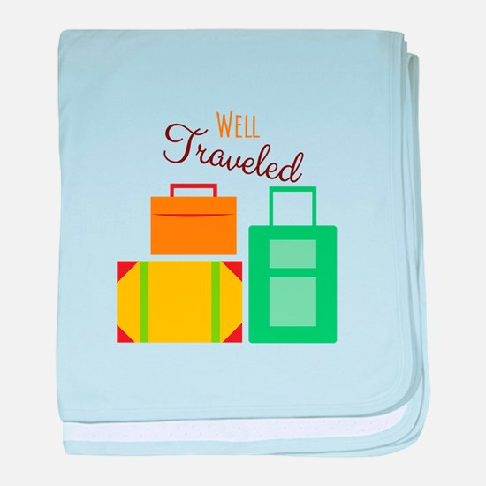Well Traveled baby blanket