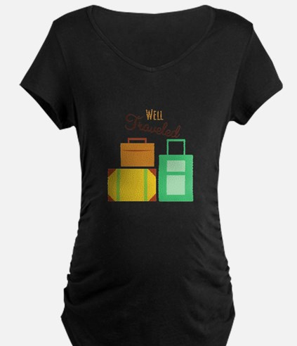 Well Traveled Maternity T-Shirt