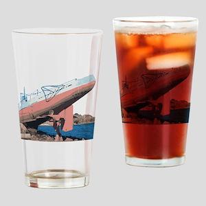 Sub on the Rocks Drinking Glass