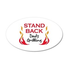DADS GRILLING Wall Decal