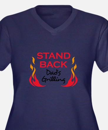 DADS GRILLING Plus Size T-Shirt