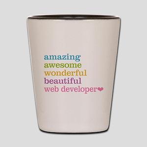Web Developer Shot Glass