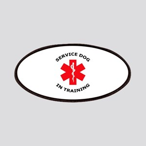 SERVICE DOG IN TRAINING Patches