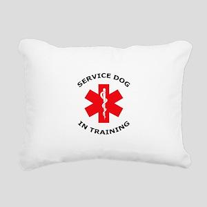 SERVICE DOG IN TRAINING Rectangular Canvas Pillow
