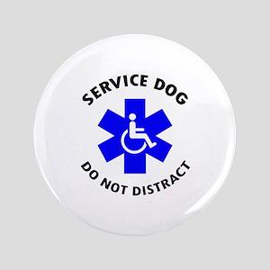"DO NOT DISTRACT 3.5"" Button"
